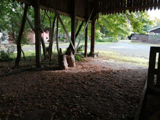 Hidden Huntley barn