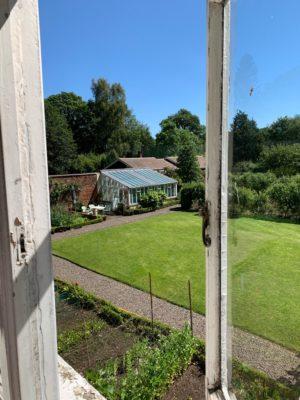 Hidden Huntley view of garden, photo credit: Walkitoffni