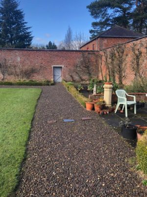 Huntley walled garden